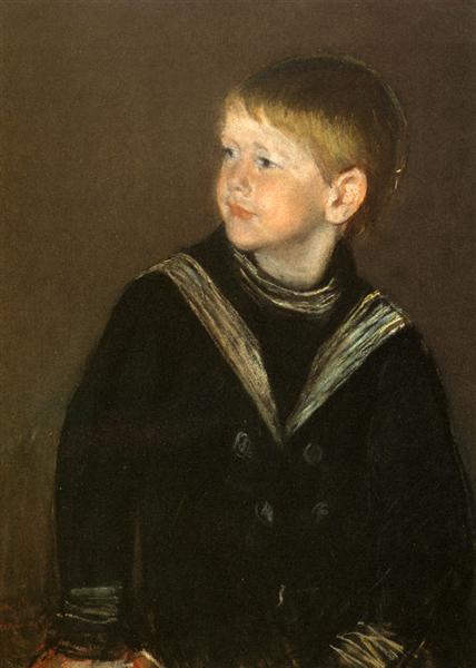 The Sailor Boy Gardener Cassatt, 1892 - Mary Cassatt