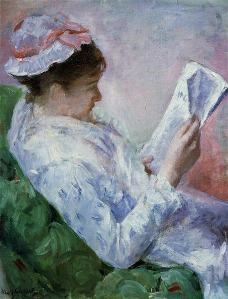 Woman Reading, 1878 - 1879 - Mary Cassatt