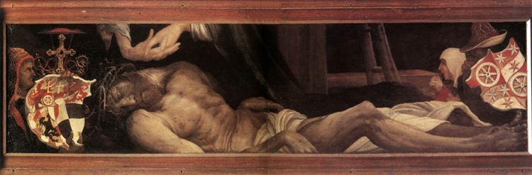 Lamentation of Christ, c.1525 - Matthias Grünewald