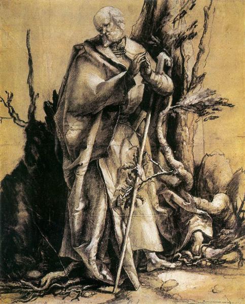 St. John in the Forest, 1515 - Matthias Grünewald