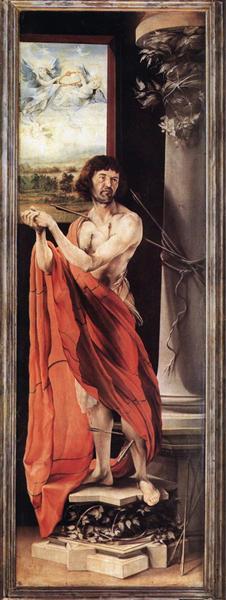 St. Sebastian, c.1515 - Matthias Grünewald