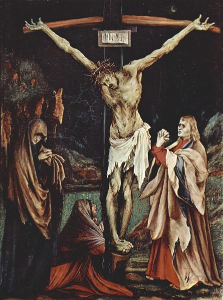 The Small Crucifixion, c.1510 - Matthias Grünewald