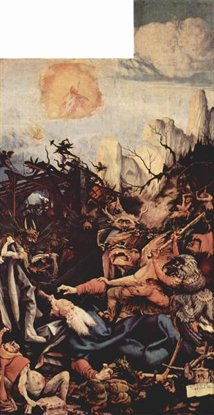 The Temptation of St. Anthony (right wing of the Isenheim Altar), 1510 - 1515 - Matthias Grünewald
