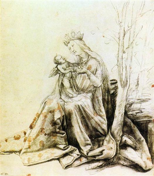 Virgin and Child, 1514 - 1519 - Matthias Grünewald