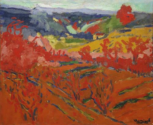 Autumn Landscape, 1905 - Моріс де Вламінк