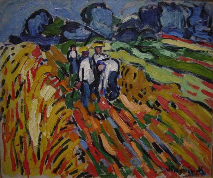 Potatoe Pickers - Maurice de Vlaminck