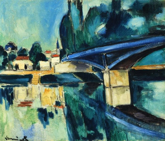 The Bridge at Nogent, c.1907 - c.1910 - Maurice de Vlaminck