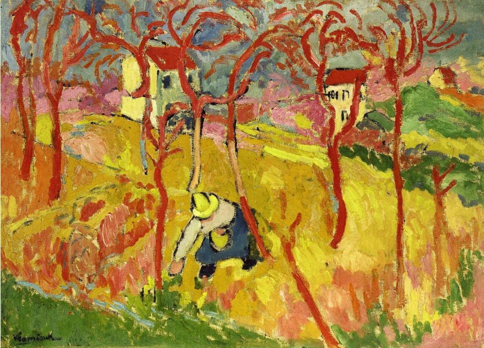 the gardener 1904 maurice de vlaminck