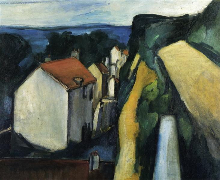The Village, c.1908 - c.1909 - Maurice de Vlaminck