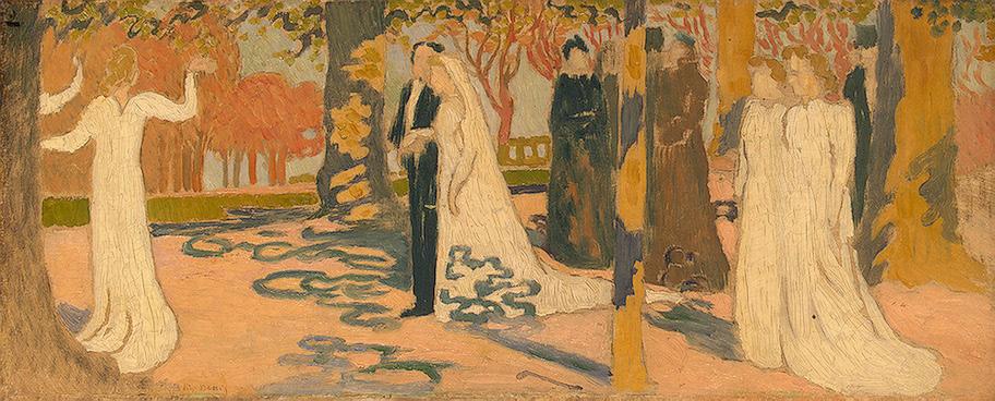Wedding procession c1892 maurice denis wikiart wedding procession c1892 maurice denis junglespirit Images