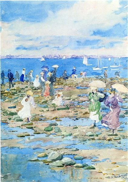 Los visitantes de verano - Maurice Prendergast