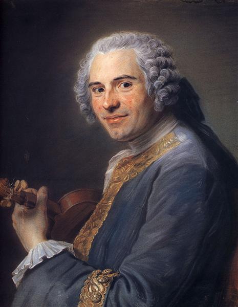 Jean-Joseph Cassanea de Mondonville, 1747 - Quentin de La Tour