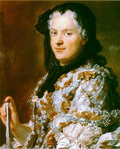 Portrait of Marie Leszczyńska, Queen of France - Maurice Quentin de La Tour