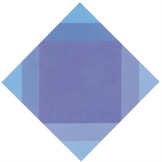 Auflösung von lila, 1972 - Max Bill
