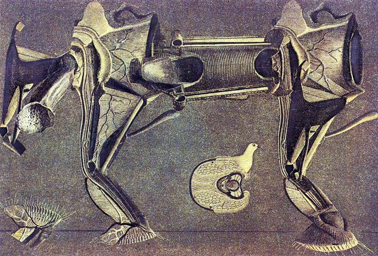 A little sick horse's leg, 1920 - Max Ernst