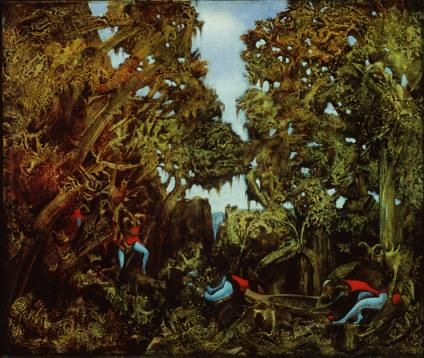 Everyone Here Speaks Latin, 1943 - Max Ernst