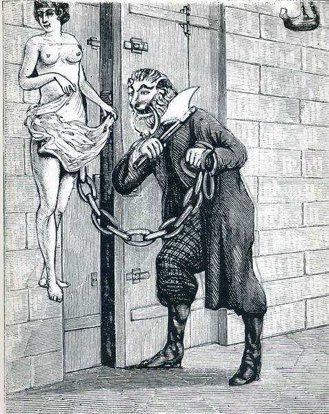 "Illustration to ""A Week of Kindness"" - Max Ernst"
