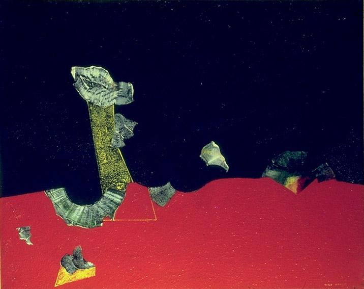 Landscape with shells, 1928 - Max Ernst