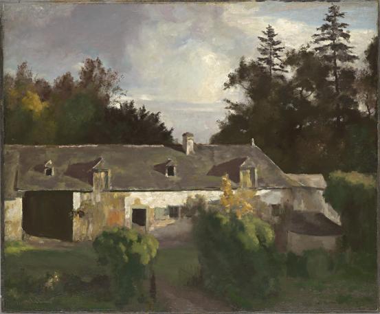 Picherit's farm, 1910 - Max Meldrum