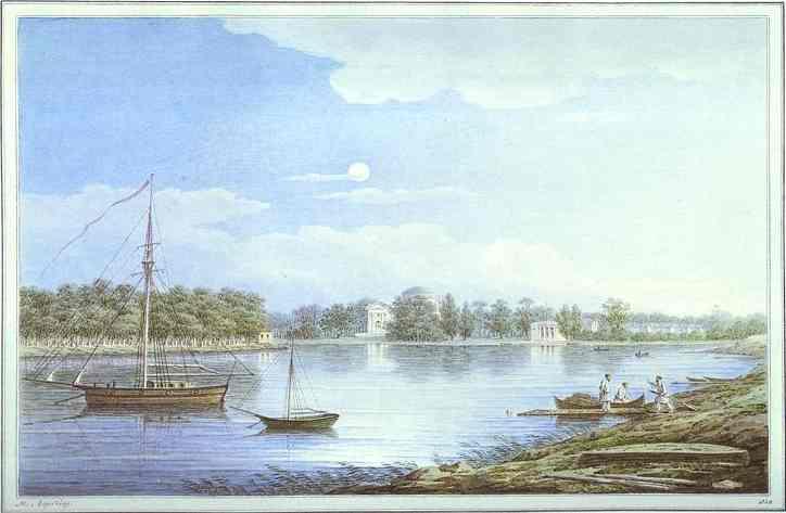 The Nevka by the Elagin Island, 1829 - Maxim Vorobiev