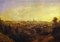 View of a Town (Grodno) - Maxim Nikiforowitsch Worobjow