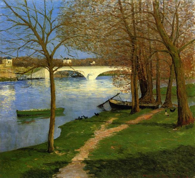 Bridge over the Loire, 1892 - Maxime Maufra