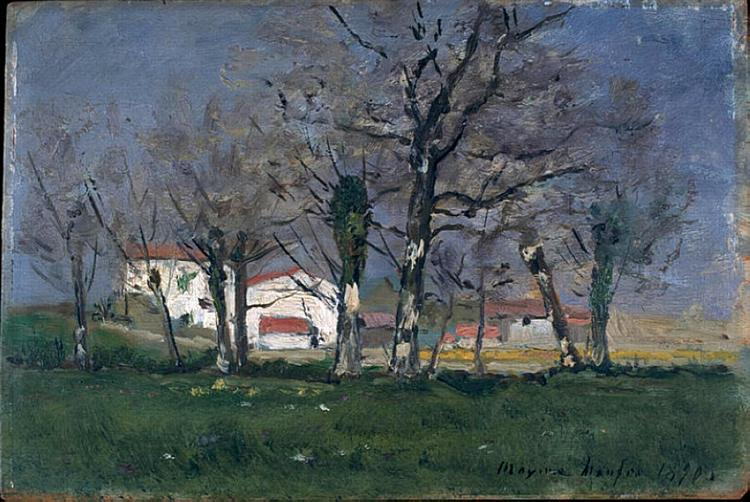 Farm in the Trees - Maxime Maufra
