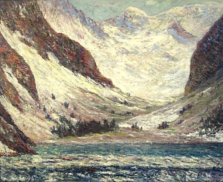 Lake Lovitel, 1904 - Maxime Maufra