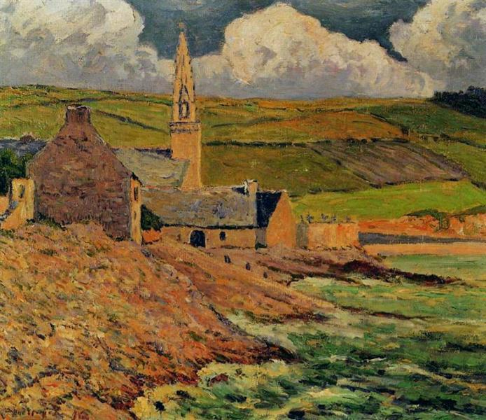 Saint Michel's Church, 1916 - Maxime Maufra
