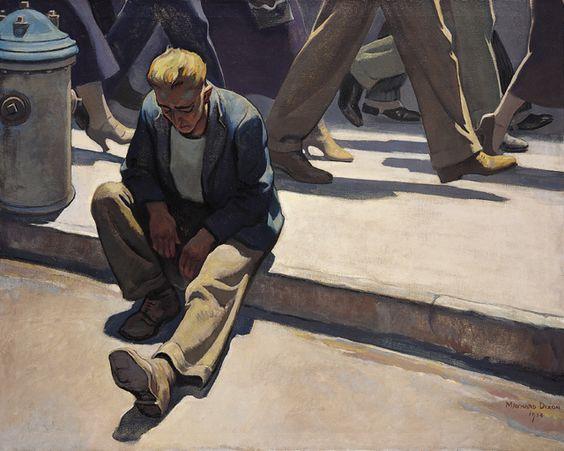 Forgotten Man, 1944 - Maynard Dixon