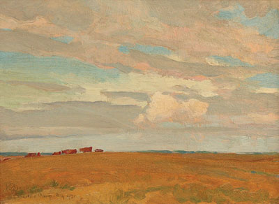 Prairie, Sand Hill Camp, May 1921, 1921 - Maynard Dixon