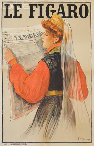 Le Figaro, 1900 - Michel Simonidy
