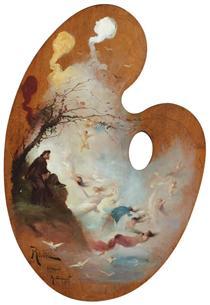 Reverie (The Dream of the Monk) - Michel Simonidy