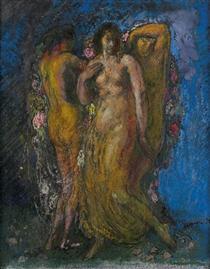 The Three Graces - Michel Simonidy