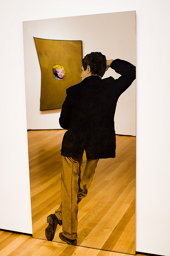 Man with Yellow Pants, 1964 - Michelangelo Pistoletto