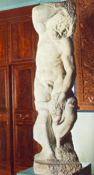 Bearded Slave, 1519 - 1536 - Michelangelo