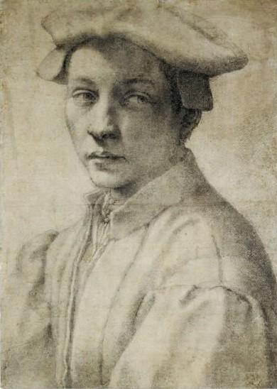 Portrait of Andrea Quaratesi, c.1532 - Michelangelo