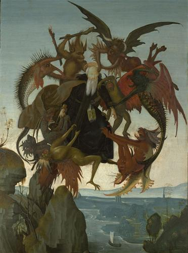 The Torment of Saint Anthony - Michelangelo