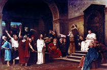 Christ before Pilate - Mihály Munkácsy