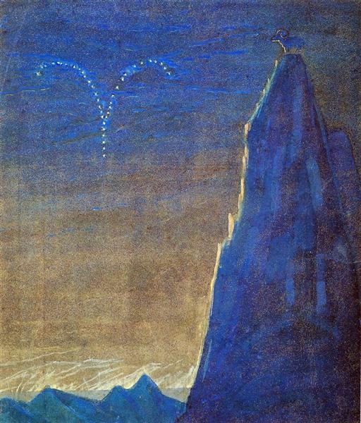 Aries, 1907 - Mikalojus Konstantinas Ciurlionis