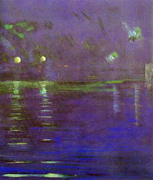 Creation of the World V, 1906 - Mikalojus Konstantinas Ciurlionis