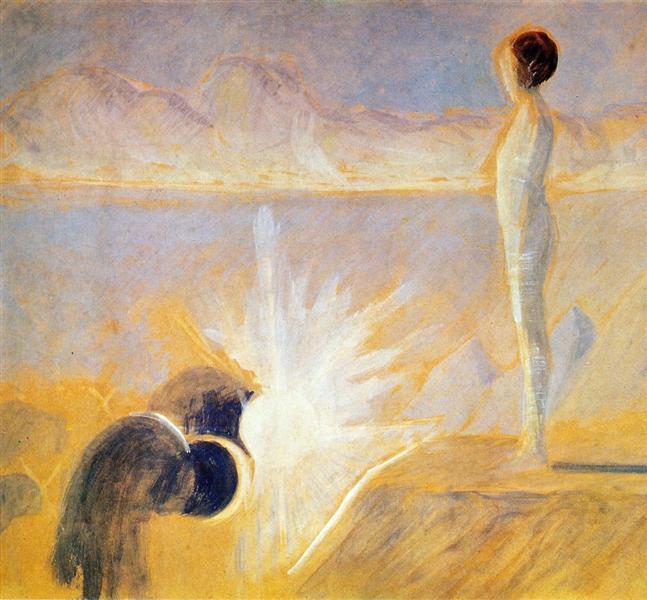 Joseph's Dream, 1907 - Mikalojus Konstantinas Ciurlionis