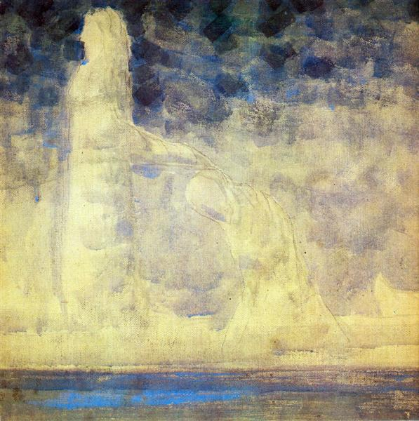 Journey of the Prince (I), 1907 - Mikalojus Konstantinas Ciurlionis
