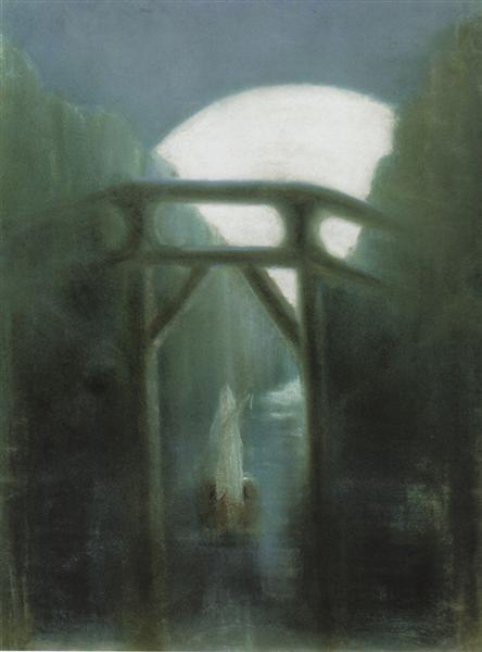 Night, 1905 - Mikalojus Konstantinas Ciurlionis