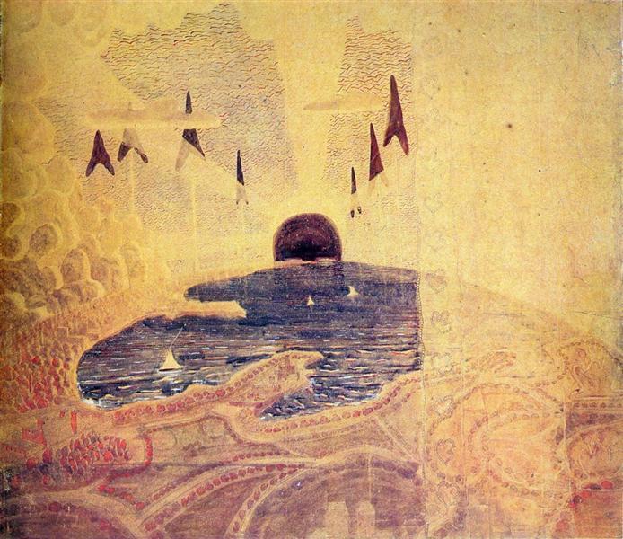 Прелюдія, 1908 - Мікалоюс Чюрльоніс