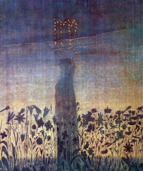 Діва, 1907 - Мікалоюс Чюрльоніс