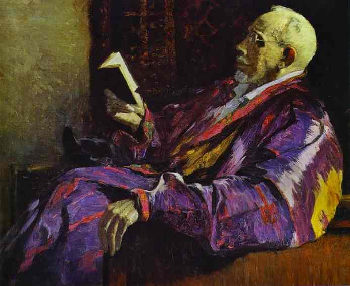 Portrait of Alexey Severtsov, 1934 - Михаил Нестеров