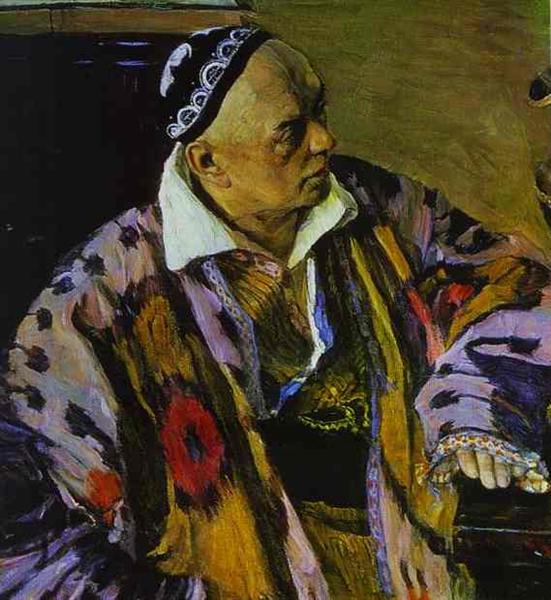 Portrait of Alexey Shchusev, 1941 - Михаил Нестеров
