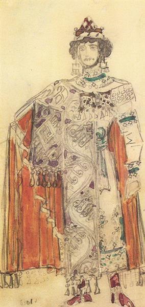 Prince Guido Costume Design For The Opera Tale Of Tsar Saltan