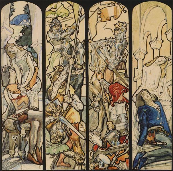 Romeo and Juliet, c.1896 - Mikhail Vrubel